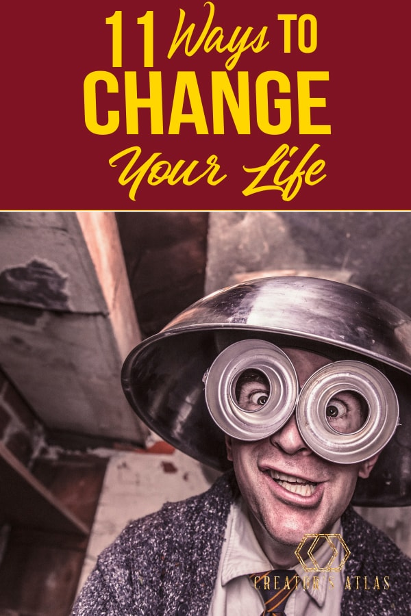 How can I change my life? Being successful is acheivable, these helpful habits will get you on the right path to big change in your life! How to change your life in 11 steps.