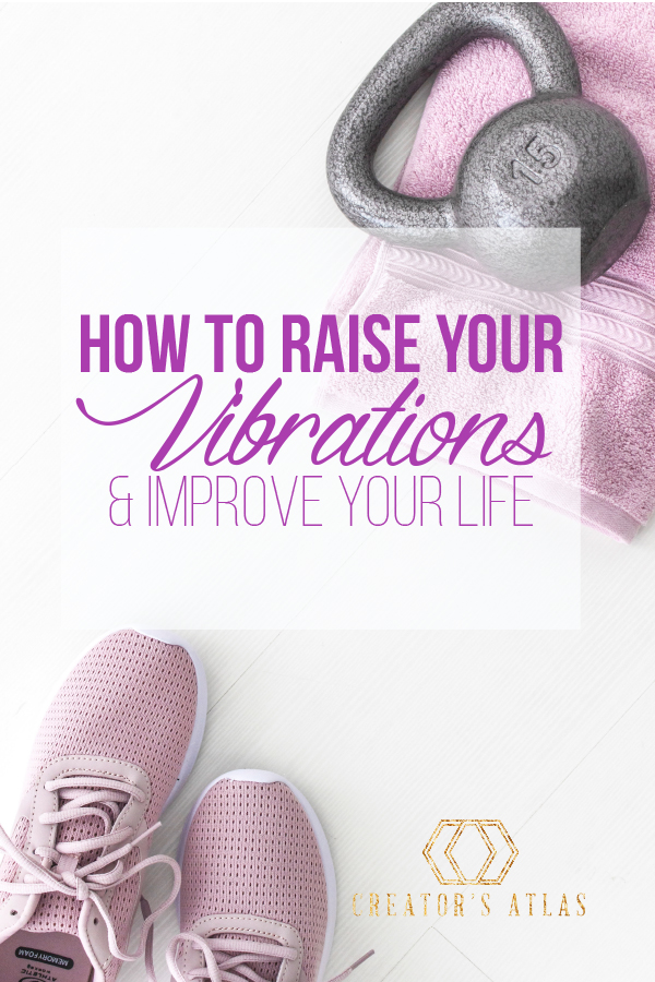 Raise your vibration and get your life back with these easy ideas. You will be back to your high vibe self in no time after practicing these tips.  #Raiseyourvibrations #highvibes #positivelife